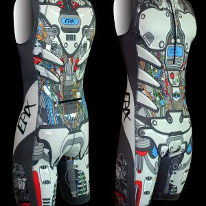 LimitedEdition Men's Cyborg Airflow 1 piece (S/XXL Left In Stock!)