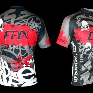 LimitedEdition Graffiti Performance Cycling Jersey Men's/Women's