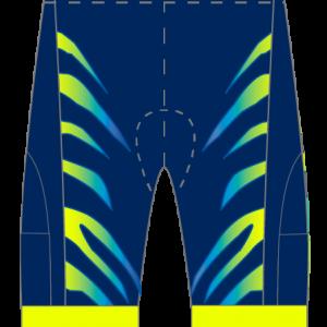 Fearless Endurance Airflow + Tri Shorts (Blue Neon)