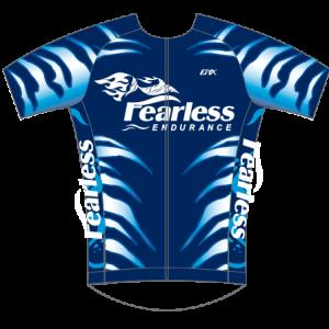 Fearless Endurance GoFierce Aero Tri Jersey (Blue)