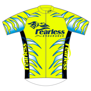Fearless Endurance Performance Cycling Jersey (Neon)