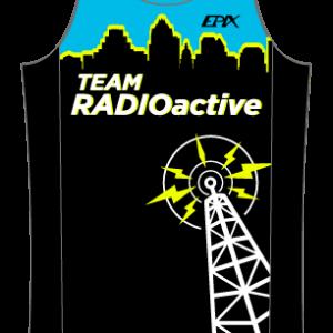 Radioactive GoFierce Running Singlet