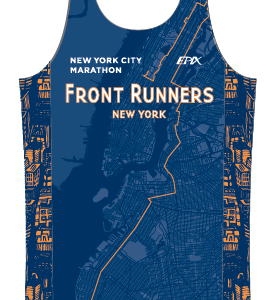 FRNY NEW NYC Marathon GoFierce Running Singlet