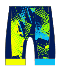 Team MPI GoFierce Cycling Shorts (Mens Waistband/ Womens Waistband)