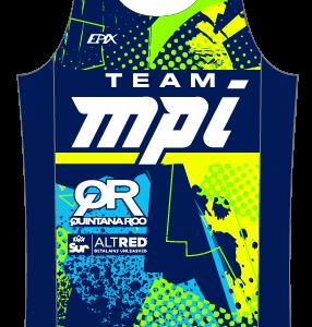 Team MPI GoFierce Running Singlet
