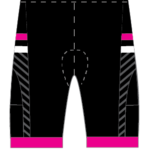Ainsley's Angels Airflow + Tri Shorts (Molded Pad)