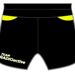 RadioActive GoFierce Running Shorts
