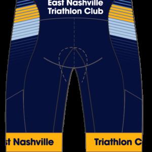 East Nashville Tri Club GoFierce Tri Shorts BLUE