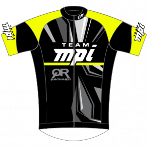 Team MPI GoFierce Cycling Jersey (Black/Neon)