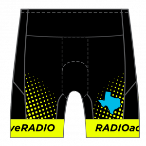 Radioactive Women's GoFierce Tri Short Shorts