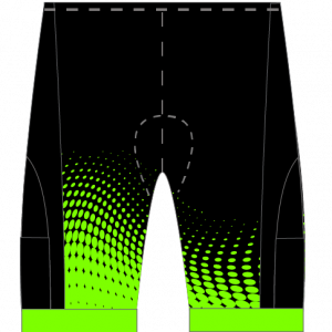 CDA Tri Club Airflow + Tri Shorts (Male Green/Female Green)