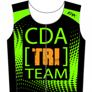 CDA Tri Club Airflow Tri Top (Male Green/Female Green)
