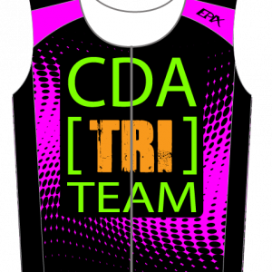 CDA Tri Club Airflow Tri Top (Male Pink/Female Pink)