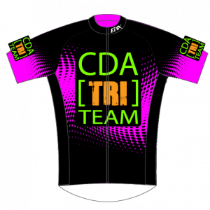 CDA Tri Club Performance Cycling Jersey (Pink)