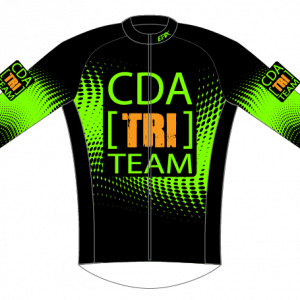 CDA Tri Club Light Winter Jacket (Green Only)