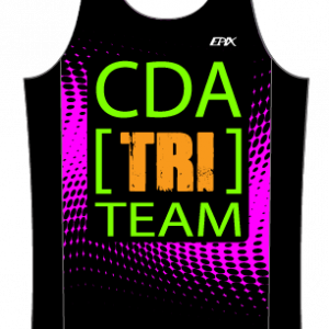 CDA Tri Club GoFierce Running Singlet (Female Pink)