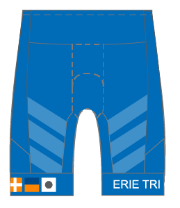 Erie Tri Club GoFierce Tri Shorts