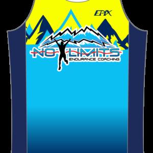 No Limits Endurance GoFierce Running Singlet