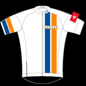 RMRH GoFierce Pro Edition Cycling Jersey White