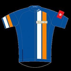 RMRH GoFierce Pro Edition Cycling Jersey Blue