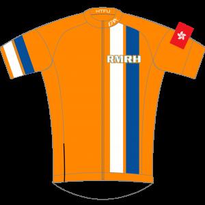 RMRH GoFierce Pro Edition Cycling Jersey Orange