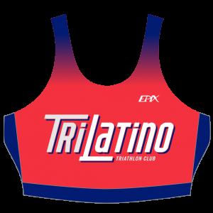 Tri Latino GoFierce Women's Tri Bra (RED)