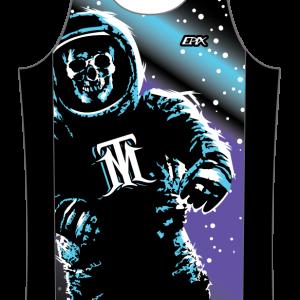 TriMafia GoFierce Running Singlet SPACE DESIGN