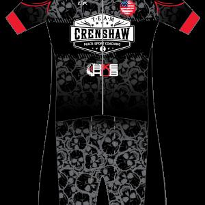 Team Crenshaw GoFierce Aero Pro Edition Short-Sleeve 1 Piece (WINGS DESIGN)