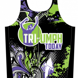 TRI-Umph  Women's GoFierce Sleeveless Tri Top
