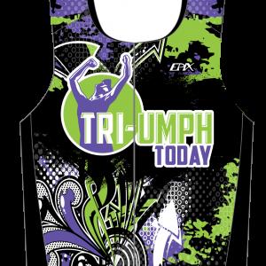 TRI-Umph  Men's GoFierce Sleeveless Tri Top