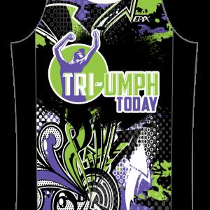 TRI-Umph GoFierce Running Singlet