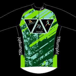 Triumph Tri Team GoFierce Heavy Winter Jacket (removable sleeves)