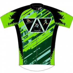 Triumph Tri Team Performance Short Sleeve Cycling Jersey