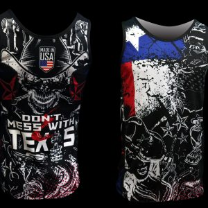 Don't Mess With TX Running Singlet