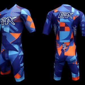 Speed Cubed 2 Pro-Edition Short Sleeve 1 Piece Tri Suit (Made-To-Order)