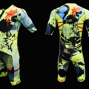 Urban Jungle FreeFlyte Short-Sleeve 1-Piece Tri Suit (Made-To-Order)