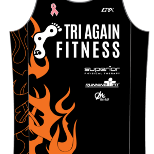Tri Again FreeFlyte Running Singlet (Black)