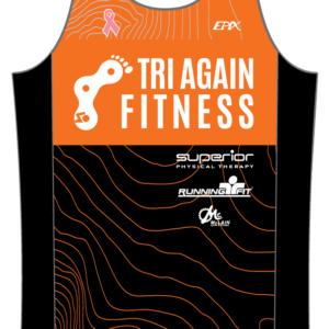 Tri Again FreeFlyte Running Singlet (Orange)