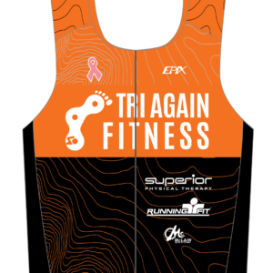 Tri Again FreeFlyte Sleeveless Tri Top (Orange)