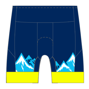 No Limits Endurance Women's GoFierce Tri Shorts (Short Length)