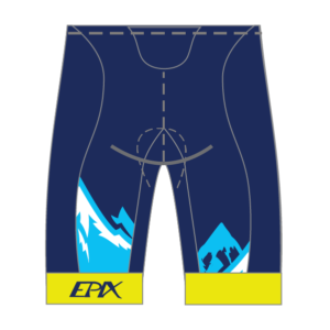 No Limits Endurance GoFierce Cycling Shorts (Men's/Women's Waistband)