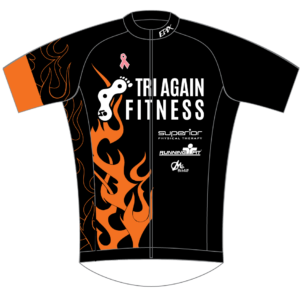Tri Again FreeFlyte Short Sleeve Cycling Jersey (Black)