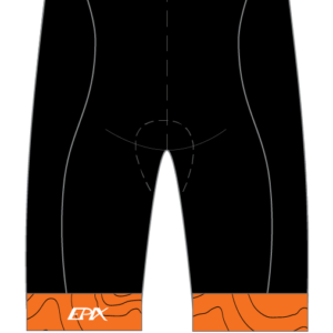 Tri Again FreeFlyte Cycling Shorts Waistband (Orange)