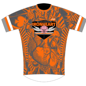 Ironheart BaseFlyte Short Sleeve Cycling Jersey