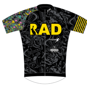 RadFam FreeFlyte Short Sleeve Cycling Jersey 2021 DESIGN