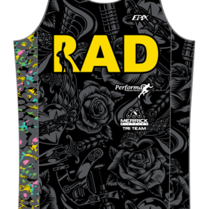 RadFam FreeFlyte Running Singlet 2021 DESIGN