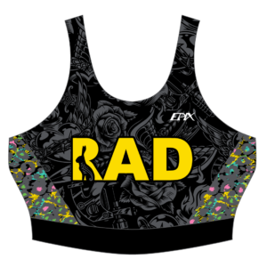 RadFam FreeFlyte Women's Tri Bra 2021 DESIGN