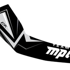 Team MPI Winter Arm Warmers (Black/Neon)