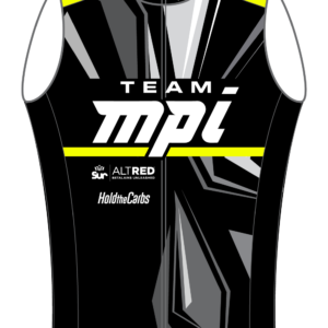 Team MPI Fall Cycling Vest (Black/Neon)