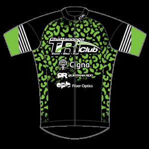 Chatt Tri GoFierce Cycling Jersey GREEN